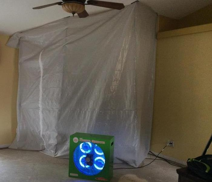 Mold Remediation in Scenic Heights, Pensacola FL. After