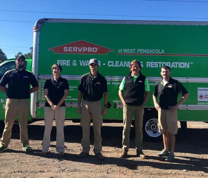 SERVPRO of WEST Pensacola Staff