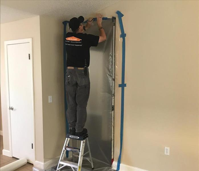 Mold Remediation in East Hill Pensacola, FL.