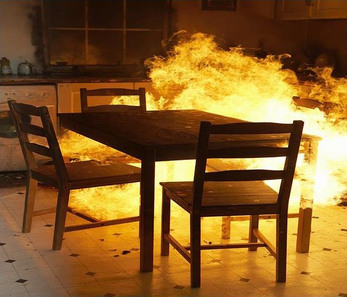 Fire Damage Kitchen Fire Damage Cleanup In Your Pensacola Home