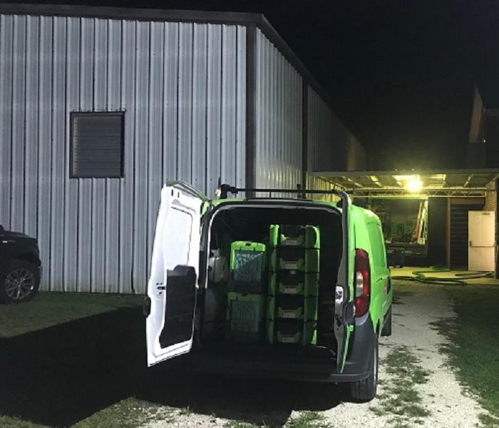 Storm Damage SERVPRO Goes High Tech to Locate Moisture in Flood Damaged Pensacola Homes